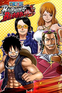 Carátula del juego ONE PIECE BURNING BLOOD - GOLD Movie Pack 1