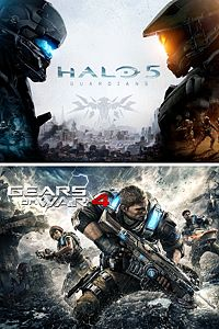 Carátula del juego Gears of War 4 and Halo 5: Guardians Bundle