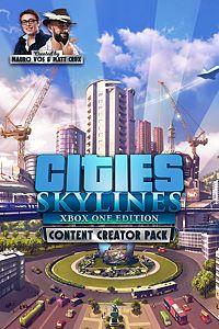 Carátula del juego Cities: Skylines - Content Creator Pack