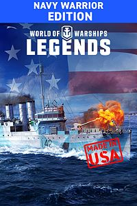 Carátula del juego World of Warships: Legends - Navy Warrior Pack