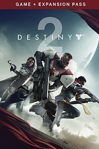 Carátula del juego Destiny 2 - Game + Expansion Pass Bundle