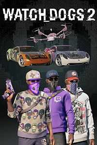 Carátula para el juego Watch Dogs2 - Fully Decked Out Bundle de Xbox 360