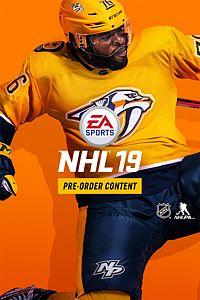Carátula del juego EA SPORTS NHL 19 Standard Edition Preorder Incentive