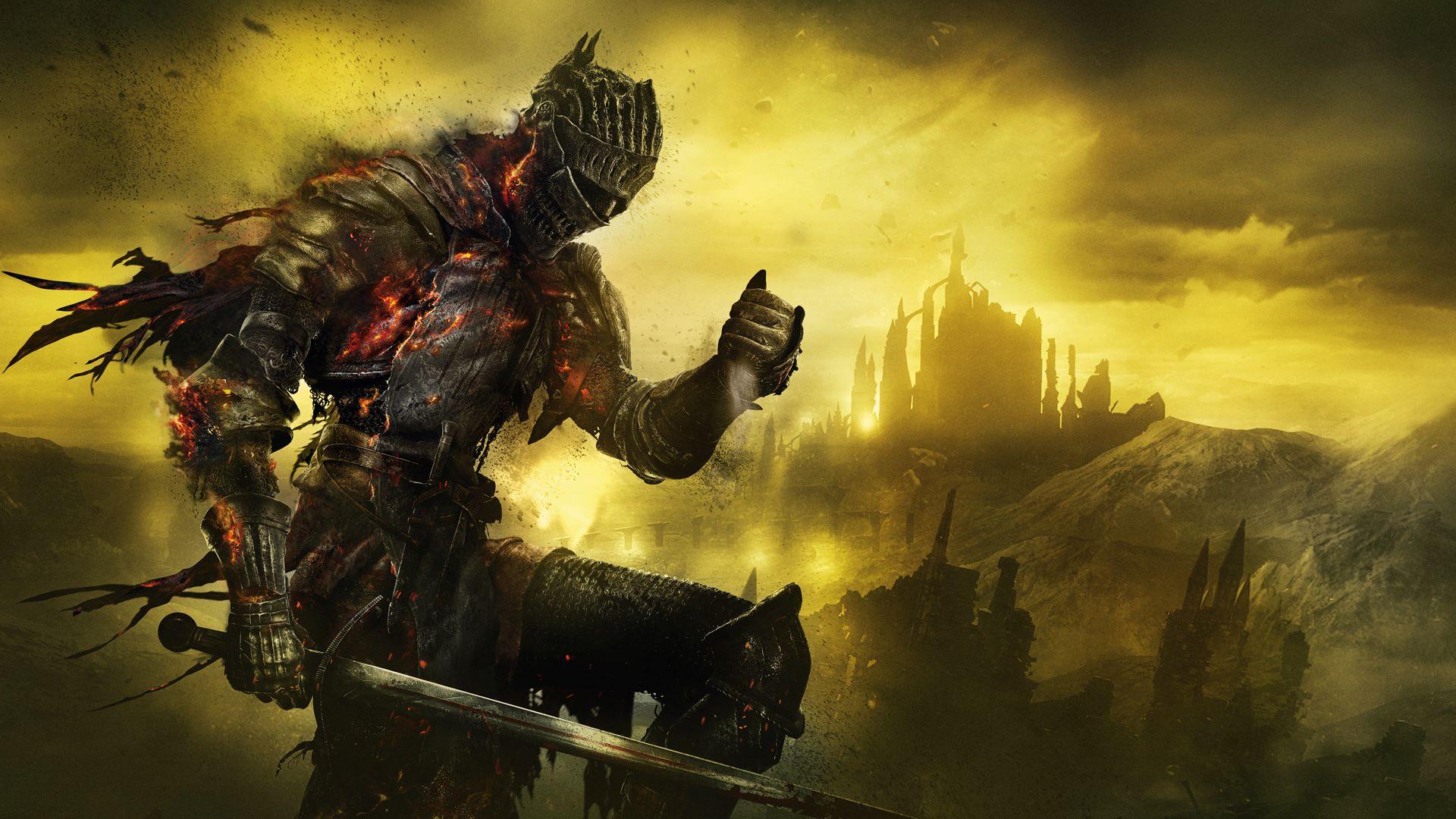 Resultado de imagen de portada Dark Souls III xbox one