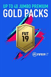 Carátula del juego Up to 40 Jumbo Premium Gold FUT Packs