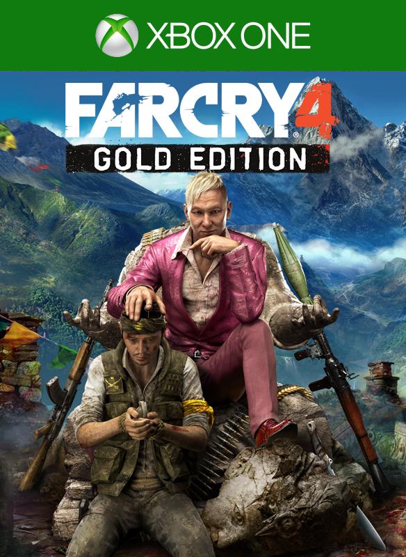 Far Cry® 4 Gold Edition boxshot