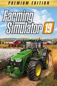 Carátula para el juego Farming Simulator 19 - Premium Edition Preorder de Xbox One