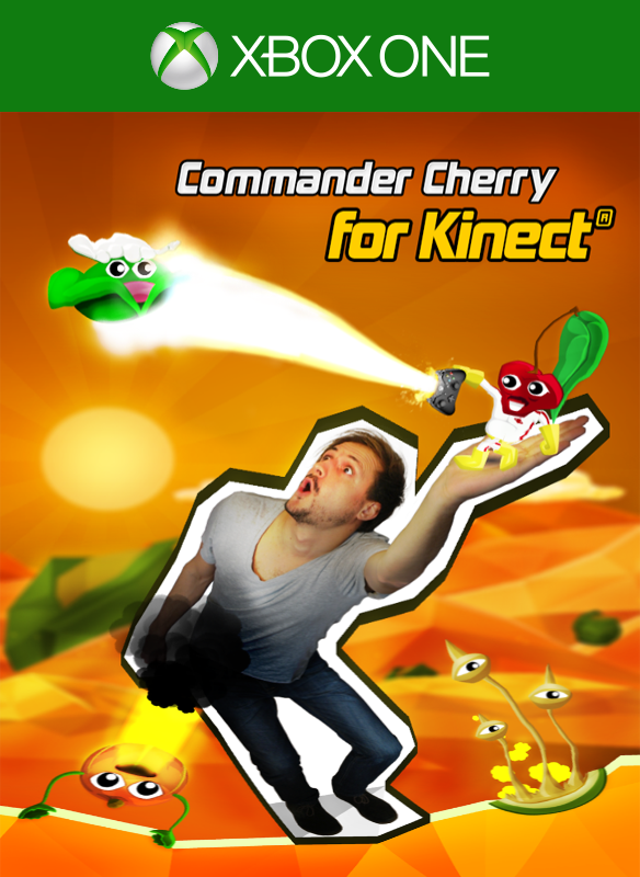 Commander Cherry for Kinect boxshot