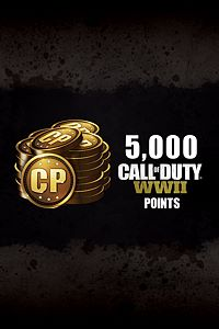 Carátula del juego 5,000 Call of Duty: WWII Points