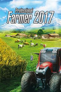 Carátula para el juego Professional Farmer 2017 de Xbox 360
