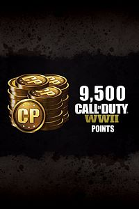 Carátula del juego 9,500 Call of Duty: WWII Points