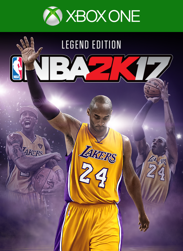 NBA 2K17 Legend Edition boxshot