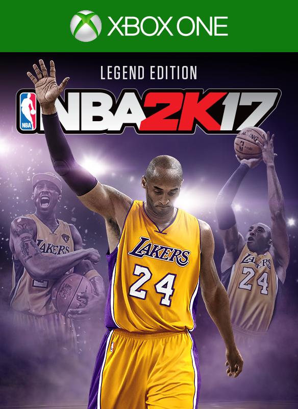 NBA 2K17 Legend Edition  boxshot