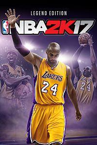 Carátula para el juego NBA 2K17 Kobe Bryant Legend Edition de Xbox 360