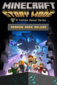 Carátula del juego Minecraft: Story Mode - Season Pass Deluxe (Episodes 2-8) de Xbox One