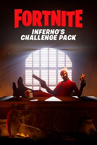 Carátula del juego Fortnite: Battle Royale - Inferno's Challenge Pack