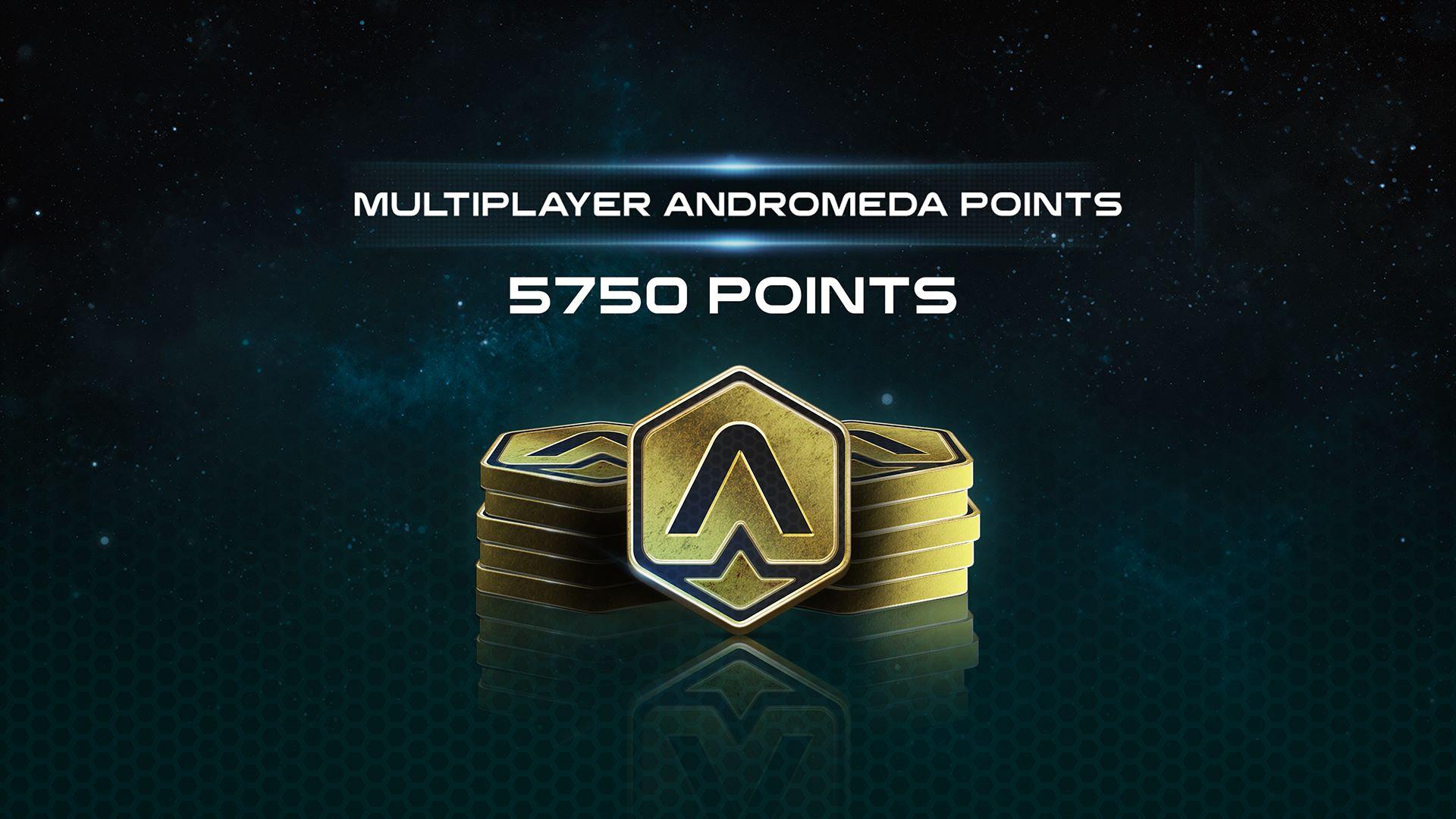 5750 puntos de Mass Effect™: Andromeda