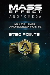 Carátula del juego 5750 Mass Effect: Andromeda Points de Xbox One