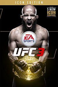 Carátula para el juego EA SPORTS UFC 3 ICON Edition de Xbox One