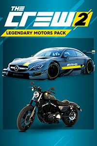 Carátula del juego THE CREW 2 - Legendary Motor Pack