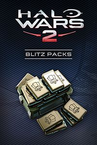 Carátula del juego Halo Wars 2: 40 Blitz Packs + 7 Free de Xbox One