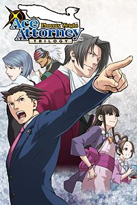 Carátula del juego Phoenix Wright: Ace Attorney Trilogy