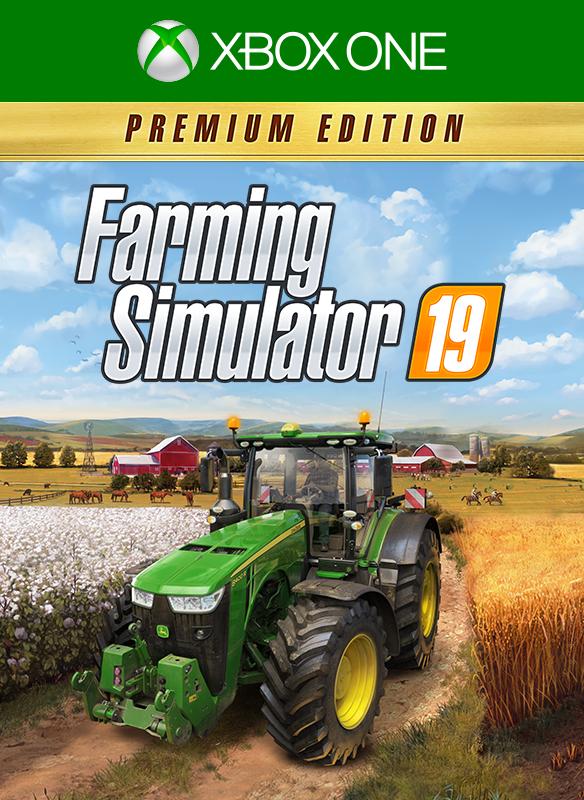 Farming Simulator 19 - Premium Edition boxshot