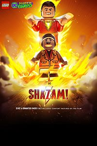 Carátula del juego LEGO DC Super-Villains Shazam! Movie Level Pack 1 & 2
