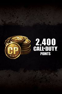Carátula del juego 2,400 Call of Duty: Black Ops III Points de Xbox One
