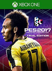 Pro Evolution Soccer 2017 Trial Edition imagem da caixa