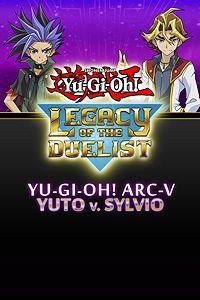 Carátula del juego Yu-Gi-Oh! ARC-V Yuto v. Sylvio de Xbox One
