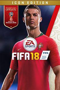 Carátula para el juego FIFA 18 ICON Edition de Xbox One
