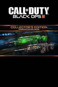Black Ops 3 - Collector's Edition Personalization Packs