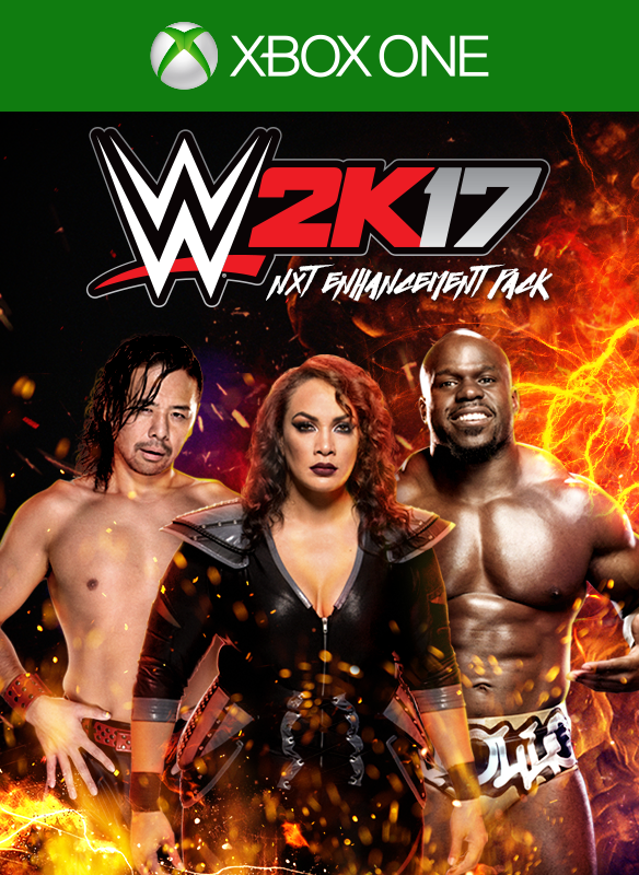 WWE 2K17 NXT Enhancement Pack boxshot