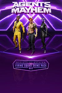 Carátula del juego Agents of Mayhem - Firing Squad Skins Pack