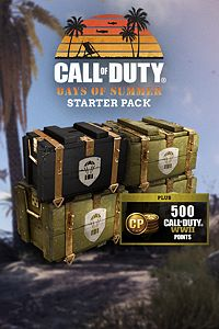 Carátula del juego Call of Duty: WWII - Days of Summer Starter