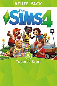 Carátula del juego The Sims 4 Toddler Stuff