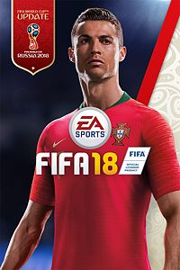 Carátula del juego FIFA 18 para Xbox One