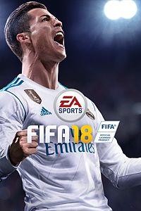 Carátula para el juego FIFA 18 de Xbox One
