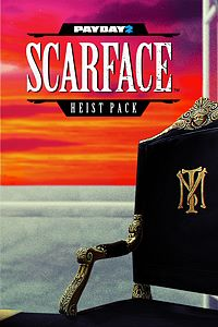 Carátula del juego PAYDAY 2: CRIMEWAVE EDITION - Scarface Heist