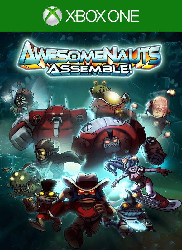 Awesomenauts Assemble boxshot