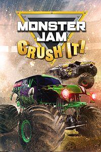 Carátula para el juego Monster Jam: Crush It! de Xbox One