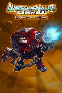 Carátula del juego Expendable Clunk - Awesomenauts Assemble! Skin de Xbox One