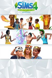 Carátula del juego The Sims 4 Deluxe Party Edition Upgrade