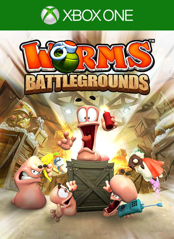 Worms Battlegrounds boxshot