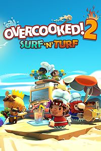 Carátula para el juego Overcooked! 2 - Surf 'n' Turf de Xbox 360