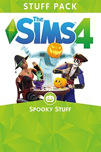 Carátula del juego The Sims 4 Spooky Stuff