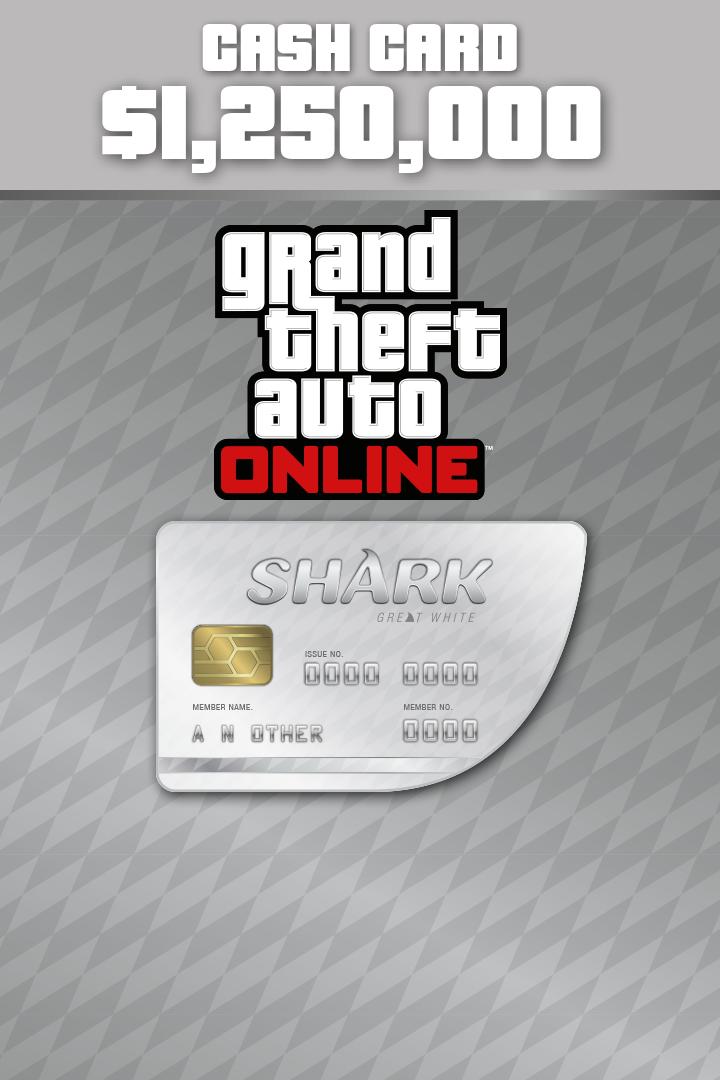 Buy Great White Shark Cash Card - Microsoft Store en-GB 747026592
