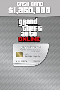 Carátula del juego Great White Shark Cash Card de Xbox One