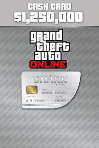 Carátula del juego Great White Shark Cash Card